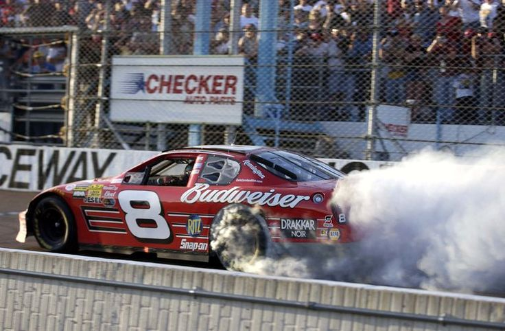 9) Phoenix Raceway, November 2003 Earnhardt beat out future teammate Jimmie Johnson to score his first victory at Phoenix.