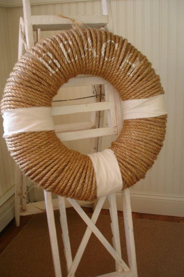 Deko Ideen im maritimen Stil zum Selbermachen