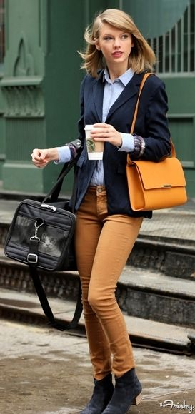 Taylor Swift Street Style . . . She manages to find the perfect balance of trend
