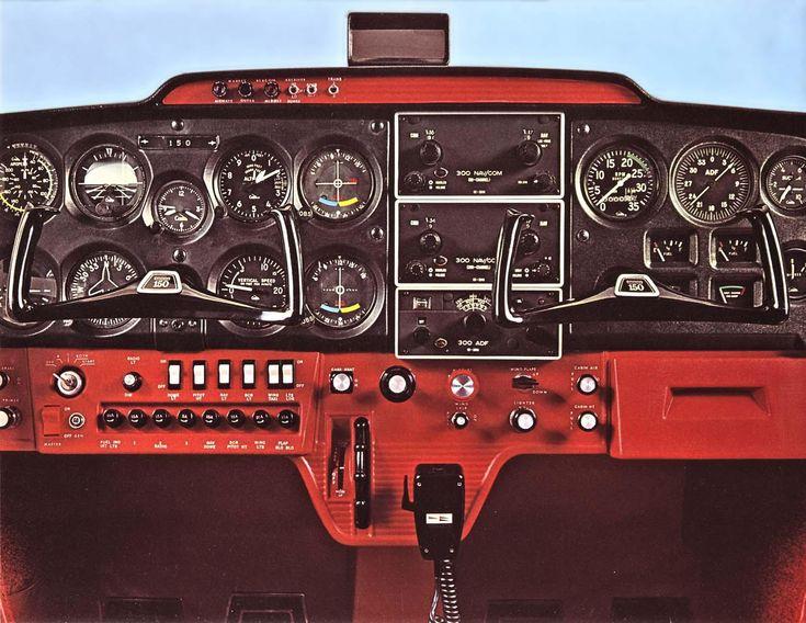 1969 Cessna 150 Instrument Panel Cessna 150 152