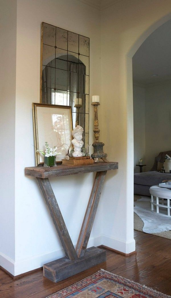 20 Eye-Catching Entry Tables Ideas to Make a Fantastic First Impression - The ART in LIFE