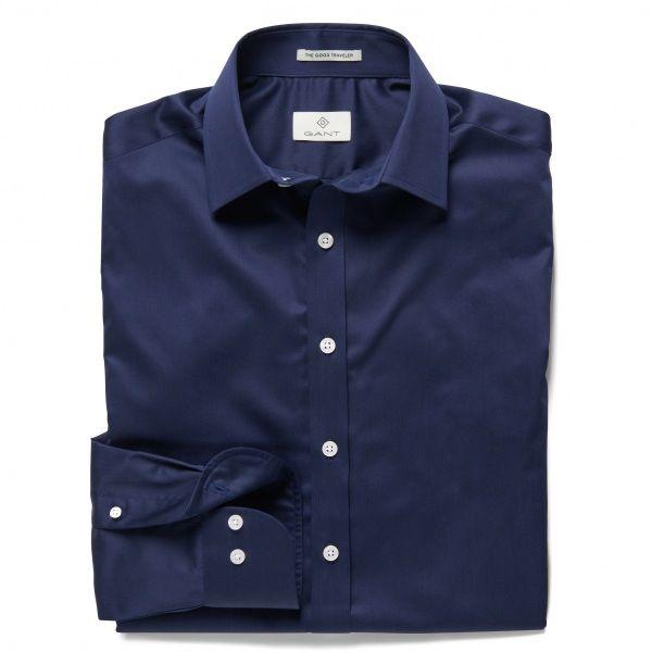 GANT Diamond G Fine Satin Fitted Shirt 380172
