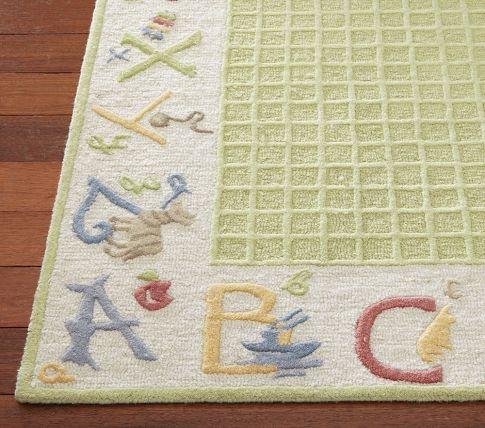 Pottery Barn Kids ABC rug. 43 best ABC s Themed Kids Room   Decor images on Pinterest   Kids