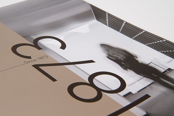 UBM annual report 2013 by Projektagentur Weixelbaumer, via Behance