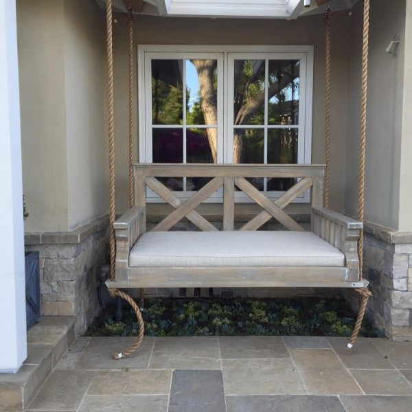 383 best blue house dreams images on pinterest front porch swings outdoor swings and crafts - Front Porch Swing
