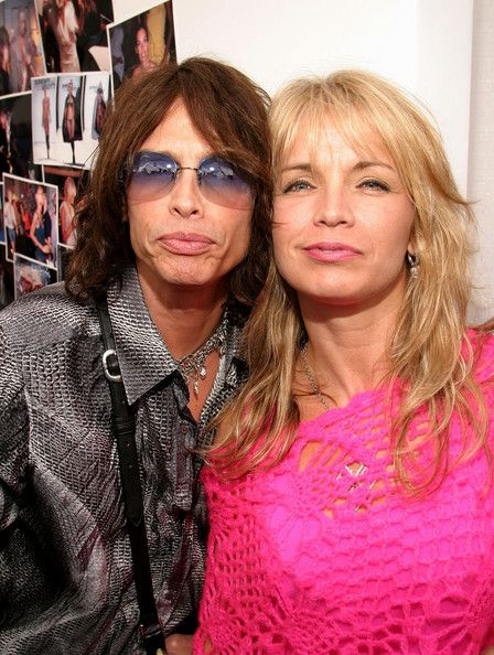 steven tyler's wives and children | Steven Tyler Singer Steven Tyler and wife Teresa Barrick is seen ...