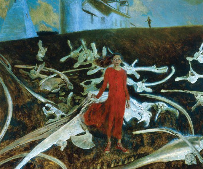 Jamie Wyeth's painting brings me ideas!