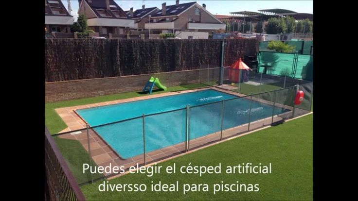 13 best cesped artificial piscinas images on pinterest for Piscinas con cesped artificial