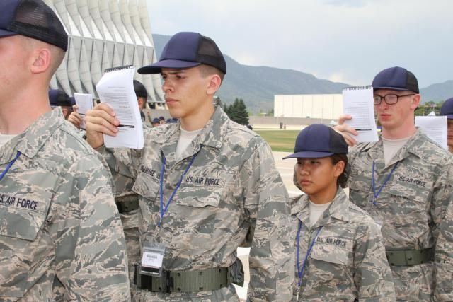 Air Force Basic Training is now 8 1/2 weeks long. Here is the ultimate Air Force Basic Training Survival Guide. All about Air Force Basic Training. Includes a detailed description of what you can expect in Air Force Basic Military Training (AFBMT), advice on things you can do in advance to prepare, as well as a few tips to help you out while you're there.