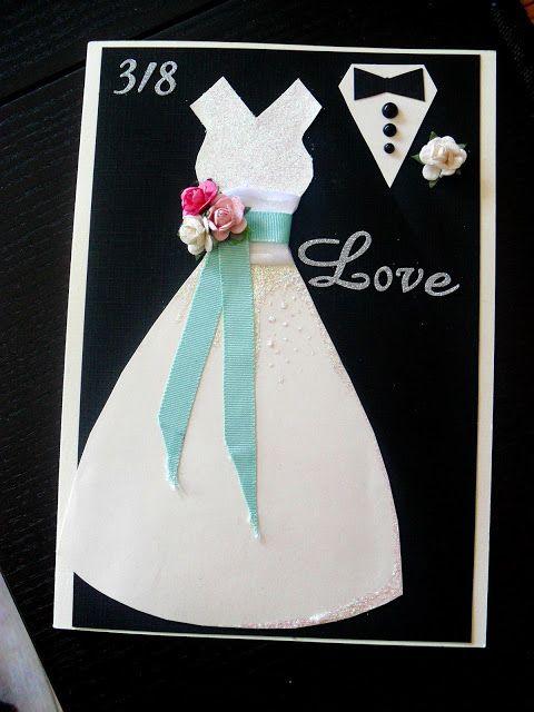 Easy and nice weddingcard