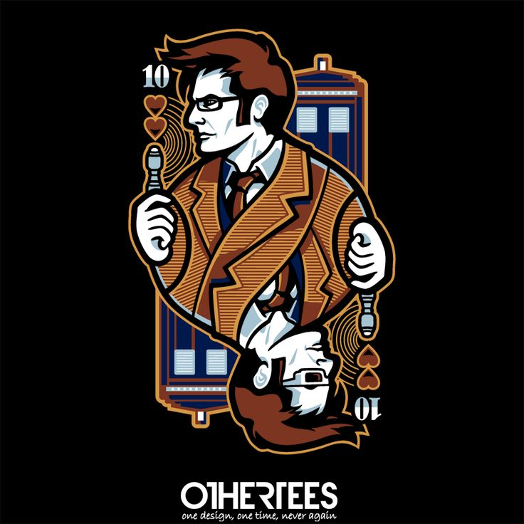 10th of Hearts by WinterArtwork Shirt on sale until 01 May on http://othertees.com #doctorwho