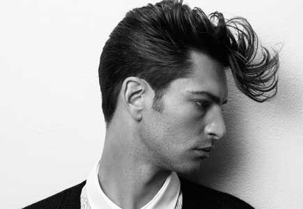 Rockabilly influences permeate a lot of today's men's styles