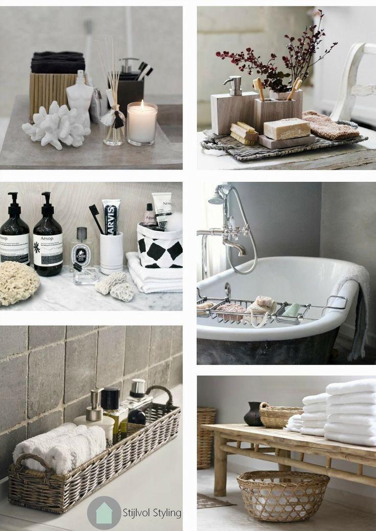Interieur | Accessoires en styling inspiratie voor de badkamer