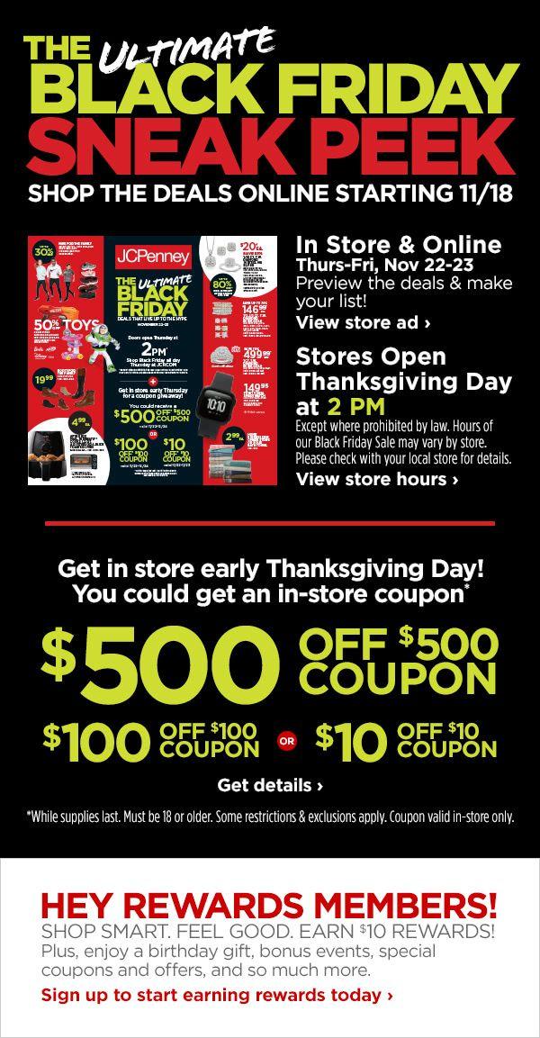 The Ultimate Black Friday Sneak Peek Black Friday Black Friday Deals Black Friday Ads