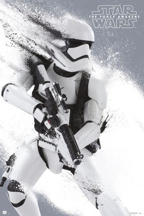 Art poster for the new Star Wars Force Awakens