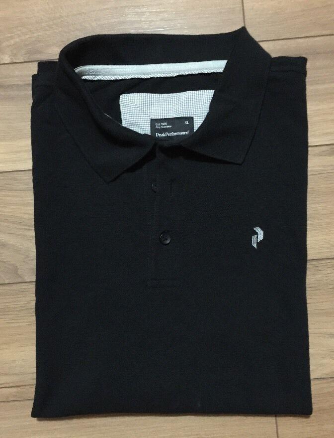 Peak Performance Polo Shirt Mens Black XL  | eBay