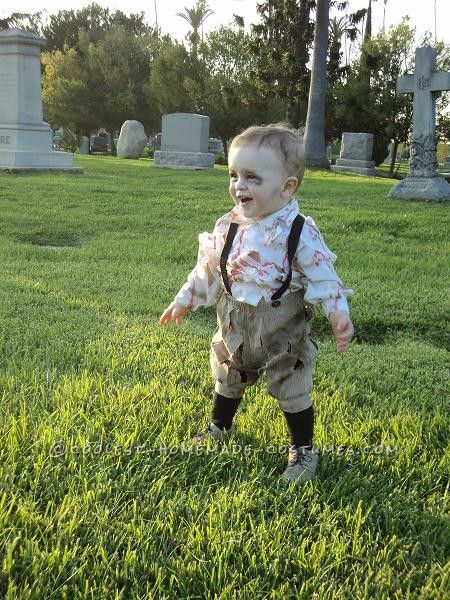 Cutest Zombie Baby Ever ...This website is the Pinterest of birthday cakes