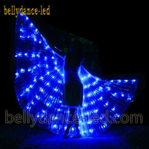 LED-isis-wings-glow-show-parade-belly-dance-cabaret-club-wear-prop-solid-blue