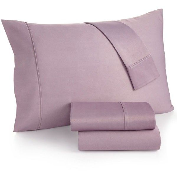 Caprice Solid Queen 4-oc Sheet Set, 350 Thread Count, ($70) ❤ liked on Polyvore featuring home, bed & bath, bedding, bed sheets, lavendar, contemporary bedding, lilac bedding, queen bed sheet set, lavendar bedding and queen bedding