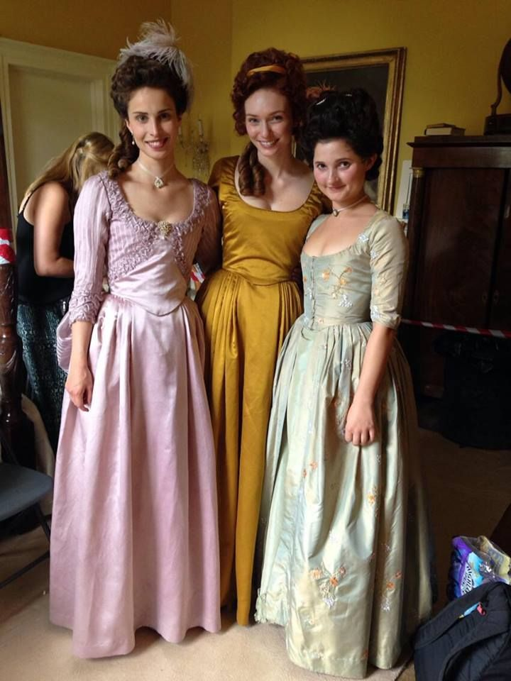#Poldark (2015) Behind the Scenes 1x6. Heida Reed (Elizabeth), Eleanor Thompson…