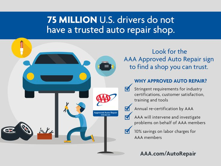 75 Million Americans Have Not Yet Found An Auto Repair Shop They Can Trust With Their Vehicle Aaa Can Help Learn More Auto Repair Repair Auto Repair Shop