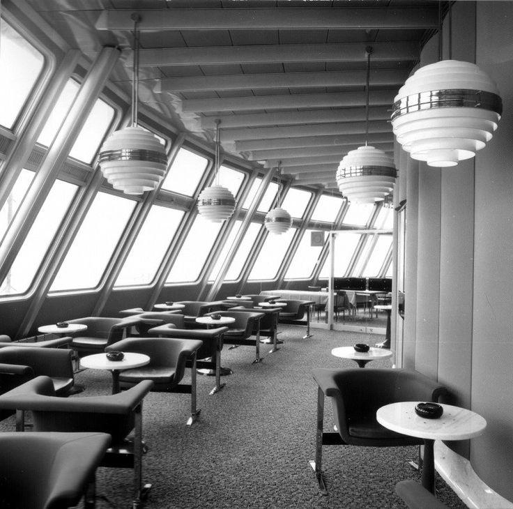 Modern Mid Century Groovy Interiors Inside a Czech Space Age Hotel