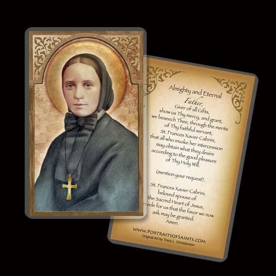 St. Frances Xavier Cabrini Holy Card