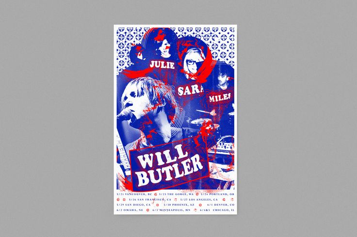 Will Butler Poster Design