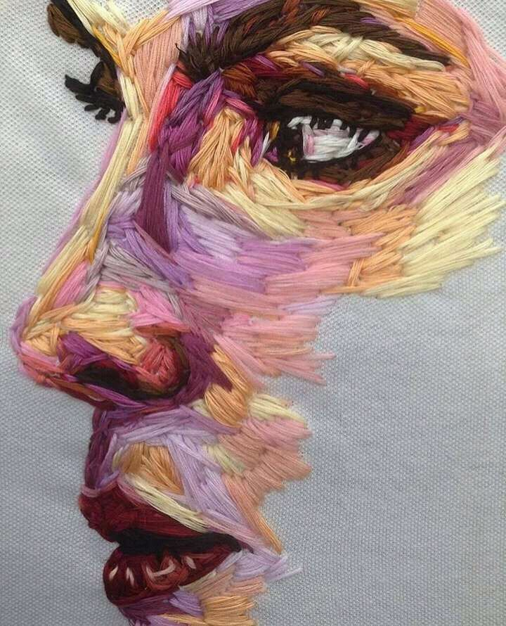 """""""Colourful Embroidery art"""" by Pajnsy, 720 × 890 : Art"""
