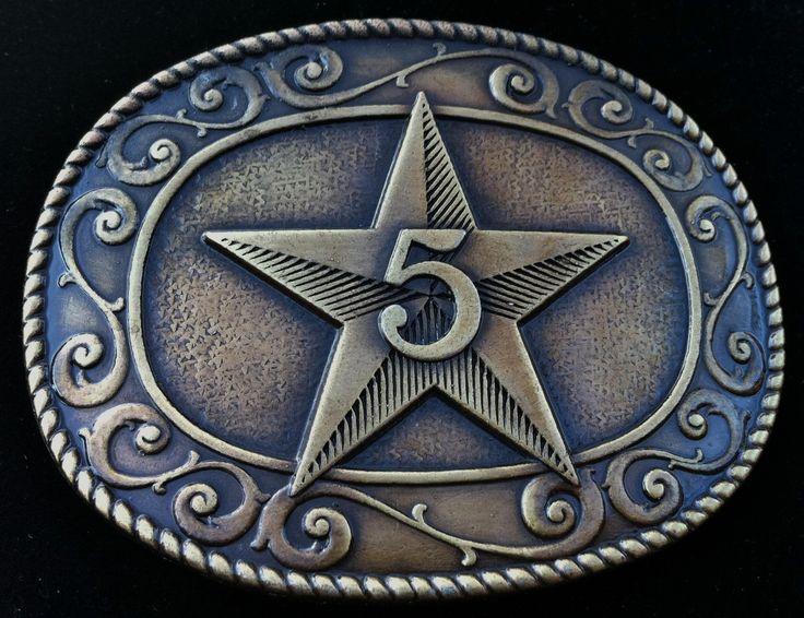 5 Point Star Western Cowboy Cowgirl Belt Buckle #star #starbuckle #starbeltbuckle #5pointstar #western #westernbuckles #westernbeltbuckle #coolbuckles #beltbuckles #buckle