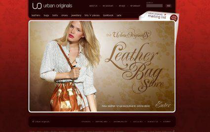 Urban Originals creative #ecommerce web design by Techidea