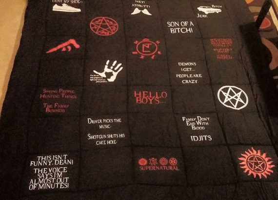 Twin/Full - Supernatural Blanket