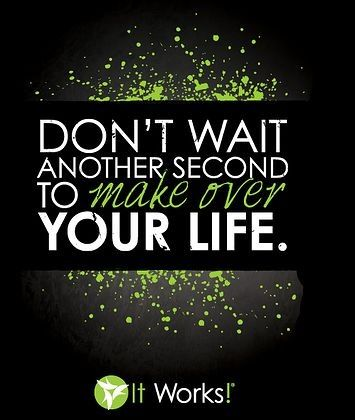 Lets make over your life. Become an It Works distributor and start earning an extra income from home or in your spare time as an extra income! Email me on catherinebrewerservices@gmail.com or message me for details!