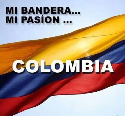 MI BANDERA... MI PASIÓN...COLOMBIA