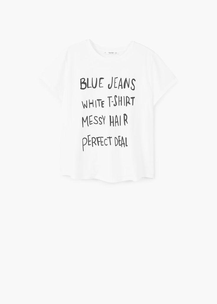 T-shirt coton modal