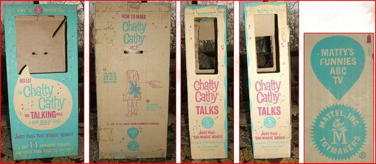 Chatty Cathy Boxes, Tags and Things
