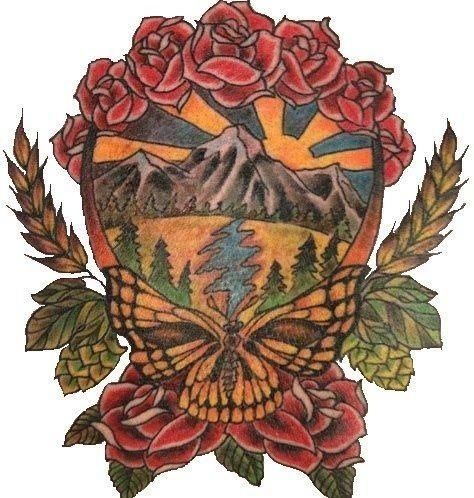 Grateful Dead. I would LOVE to get this on my thigh.