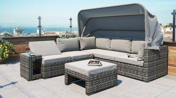 Pacific Polyrattan Sonneninsel Polyrattan Rattan Lounge Mobel