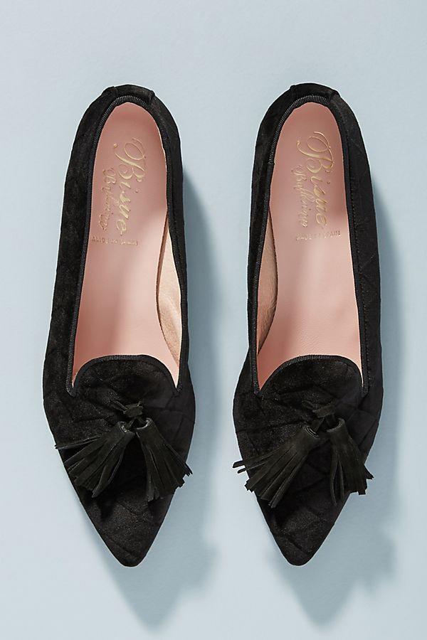 68333d20bec5c0 Bisue Ballerinas Tasseled Loafers