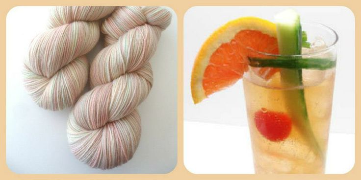 Pim's - Summer Cocktails | Red Riding Hood Yarns