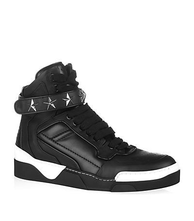 #Givenchy Star Strap High Tops