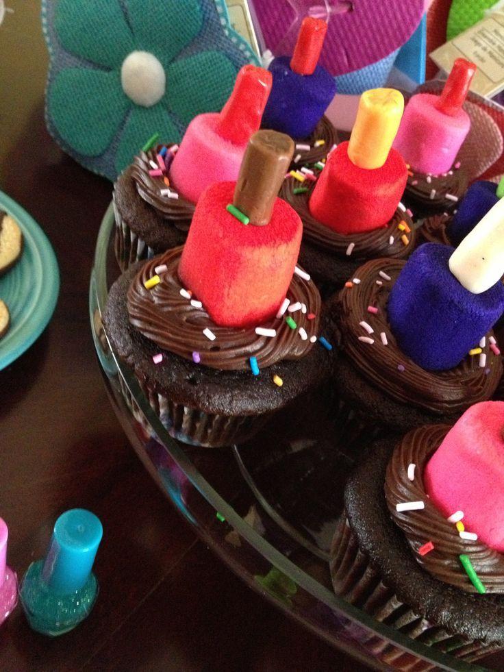 Adorable Nail Polish Cupcakes