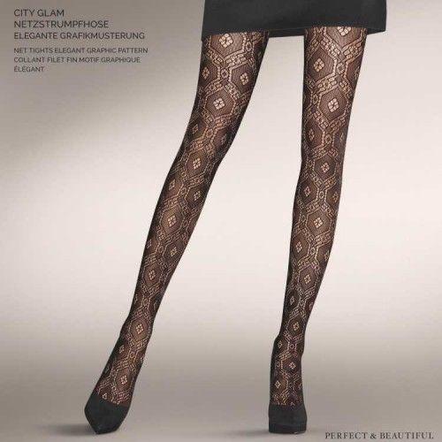 Womens Hold-up Stockings, 7 Den Kunert