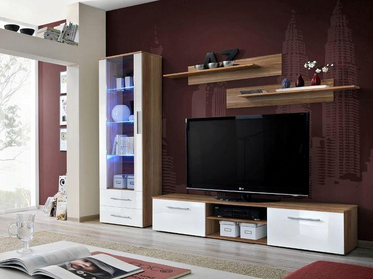 Black Wall Unit best 20+ black gloss tv unit ideas on pinterest | floating tv unit