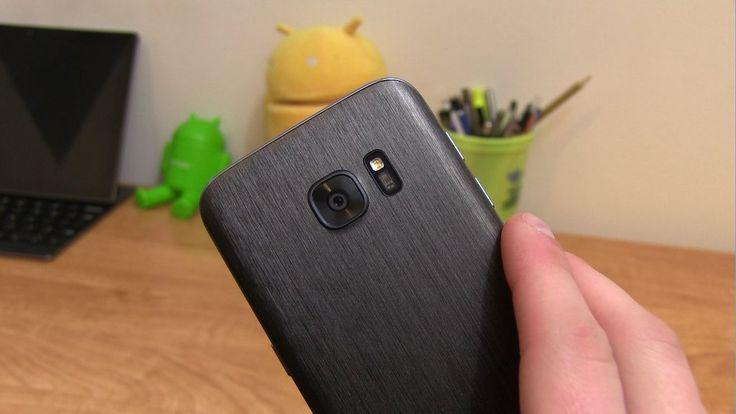 Folii Carbon 3M Skin Samsung Galaxy S7 / S7 Edge
