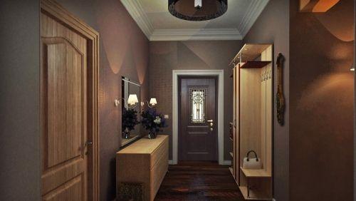 peinture couloir moderne couleur sombre | Chaine | Couloir ...