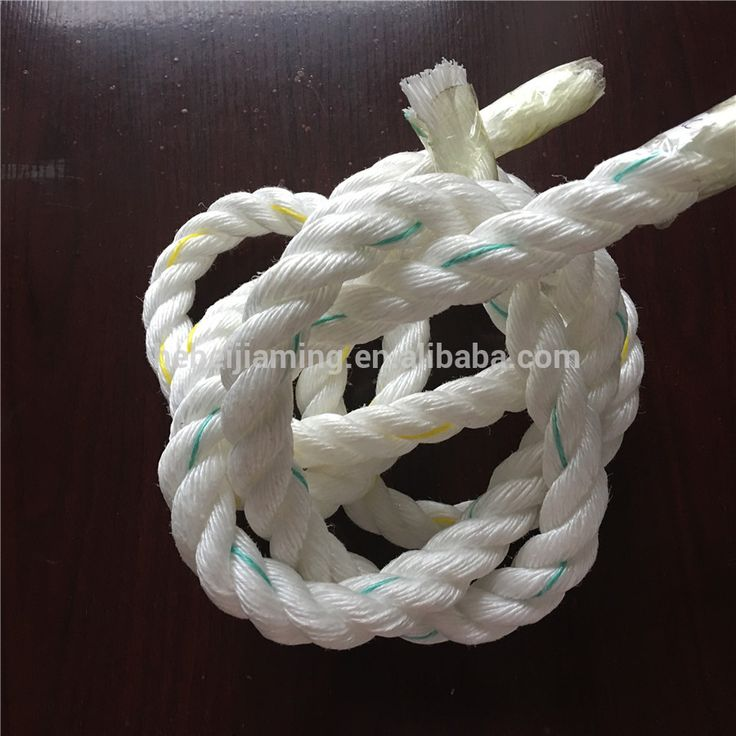 Lightweight PP Twist Fiber Yacht Sailing Rope