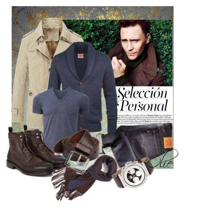 Timeless Man: look #5 by azanian-roots on Polyvore   featuring polyvore fashion style Uniqlo Canali Orciani ESPRIT