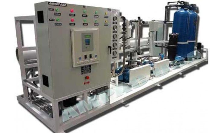 Sea Water Desalination Watermaker Land Based 12,000 GPD, SW24000-LX