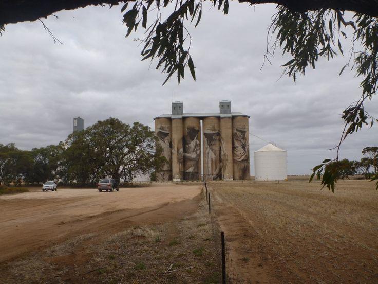 Lining up the Brim silo